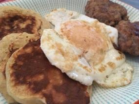 unconvincing fake Maccies breakfast