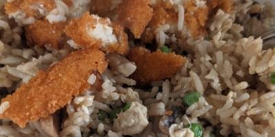 burger fried rice